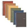 Recycled Notebook, College Ruled, 7 x 5, 80 Sheets, Perforated, Assorted
