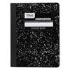Mead Composition Book, College Rule, 9 3/4 x 7 1/2, White, 100 Sheets