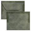 Designer Document Carrier, Letter, Two Inch Expansion, Green, 1/ea