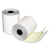 "Quality Park Two-Ply Teller Window/Financial Rolls, 3-1/4"" x 80 ft., White/Canary, 60/Carton"