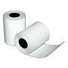 "Single-Ply Thermal Cash Register Rolls, 2-1/4"" x 80 feet, White, 50/Carton"