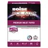 Boise POLARIS Premium Inkjet Paper, 97 Bright, 24lb, 8 1/2 x 11, White