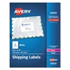 White Shipping Labels, Inkjet/Laser, 3 1/2 x 5, White, 1000/Box