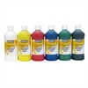 Handy Art Little Masters Washable Tempera Paint, 6 Assorted Colors, 16 oz, 6/Pack