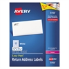Easy Peel Mailing Address Labels, Laser, 2/3 x 1 3/4, White, 6000/Pack