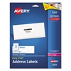 Avery Easy Peel Mailing Address Labels, Laser, 1 1/3 x 4, White, 350/Pack