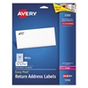 Easy Peel Mailing Address Labels, Laser, 2/3 x 1 3/4, White, 1500/Pack