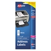 Avery Mini-Sheets Address Labels, 1 1/3 x 4, White, 150/Pack