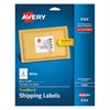 Avery Shipping Labels with TrueBlock Technology, Inkjet, 3 1/3 x 4, White, 150/Pack