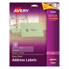 Avery Clear Easy Peel Address Labels, Laser, 1 x 4, 200/Pack