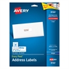Easy Peel Mailing Address Labels, Inkjet, 1 x 2 5/8, White, 750/Pack