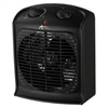 "Alera Heater Fan, 8 1/4""w x 4 3/4""d x 9 3/4""h, Black"