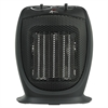 "Alera Ceramic Heater, 7 1/8""w x 5 7/8""d x 8 3/4""h, Black"