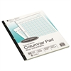 Wilson Jones Accounting Pad, Eight Six-Unit Columns, 8-1/2 x 11, 50-Sheet Pad
