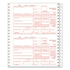 TOPS 1099-MISC Tax Forms, 5-Part Carbonless, 5 1/2 x 8, 24 1099s & 1 1096