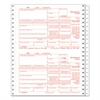 TOPS 1099-INT Tax Forms, 5-Part, 5 1/2 x 8, Inkjet/Laser, 76 1099s & 1 1096