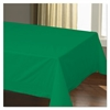 "Hoffmaster Cellutex Table Covers, Tissue/Polylined, 54"" x 108"", Jade Green, 25/Carton"