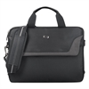 "SOLO Pro Slim Brief, 14.1"", 14"" x 1 1/2"" x 10 1/2"", Black"