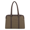 "Executive Ultrabook Tote, 15"" Ultrabook, 16 1/2"" x 3 3/8"" x 12"", Khaki"