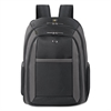 "SOLO Pro CheckFast Backpack, 16"", 13 3/4"" x 6 1/2"" x 17 3/4"", Black"