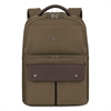 "SOLO Executive Backpack, 15.6"", 11 1/2"" x 3 17/20"" x 18 1/10"", Khaki"