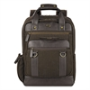 "SOLO Bradford Backpack, 15.6"", 12 x 5 x 17, Olive Denim/Espresso"