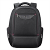 "Executive Backpack, 17.3"", 18 1/2"" x 7 3/4"" x 16 1/4"", Black"