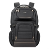 "Pro Backpack, 17.3"", 12 1/4"" x 6 3/4"" x 17 1/2"", Black"