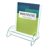 deflecto Euro-Style DocuHolder, 9 13/16w x 6 5/16d x 11h, Clear