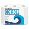 Boardwalk Office Packs Perforated Paper Towel Rolls, 2-Ply, White, 5.5x11, 140/Roll, 24/Ct