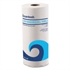 "Boardwalk Office Packs Perforated Paper Towel Rolls, 2-Ply, White, 9"" x 11"", 60/Roll,15/Ct"