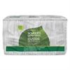 Seventh Generation 100% Recycled Napkins, 1-Ply, 11 1/2 x 12 1/2, White, 250/Pack, 12 Packs/Carton