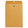 Universal Kraft Clasp Envelope, Center Seam, 32lb, 9 x 12, Brown Kraft, 100/Box