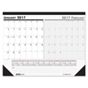 House of Doolittle Recycled Two-Month Compact Desk Pad, 18 1/2 x 13, 2017