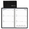 House of Doolittle Recycled Weekly Appointment Book, 30-Minute Appointments, 5 x 8, Black, 2017