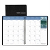 House of Doolittle Recycled Earthscapes Full-Color Monthly Planner, 8 1/2 x 11, Black, 2016-2018
