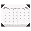 Recycled One-Color Refillable Monthly Desk Pad Calendar, 22 x 17, 2017