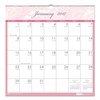 Recycled Breast Cancer Awareness Monthly Wall Calendar, 12 x 12, 2017