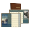 Recycled Landscapes Weekly/Monthly Planner, 8 1/2 x 11, Brown, 2017