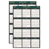 Recycled 4 Seasons Reversible Business/Academic Wall Calendar, 24x37, 2016-2017