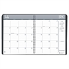 House of Doolittle Academic Ruled Monthly Planner, 14-Mo. July-August, 8 1/2 x 11, Black, 2016-2017