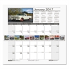 Recycled Classic Cars Monthly Wall Calendar, 12 x 16 1/2, 2017