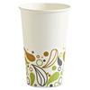Deerfield Printed Paper Hot Cups, 16 oz, 50 Cups/Pack, 20 Packs/Carton