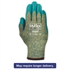 AnsellPro HyFlex 501 Medium-Duty Gloves, Size 8, Kevlar/Nitrile, Blue/Green, 12 Pairs