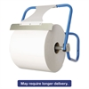 TASKBrand Jumbo Roll Dispenser, Wall-Mount, Blue, 16 1/2 x 11 x 15, Steel