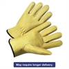Anchor Brand 4000 Series Pigskin Leather Driver Gloves, Beige, X-Large, 12 Pairs
