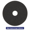 "Standard High Performance Stripping Floor Pads, 19"" Diameter, Black, 5/Carton"