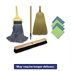 "Boardwalk Complete Cleaning Kit, Med. Mop, 60""Handle, Blue/Green/Yellow"