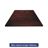 Alera Valencia Series Training Table Top, Trapezoid, 47-1/4w x 23-5/8d, Mahogany