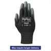 HyFlex Lite Gloves, Black/Gray, Size 10, 12 Pairs